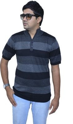 Buy Studio Nexx Striped Men's Fashion Neck T-Shirt Online at Best Offer Prices @ Rs. 625/- In India. Only Genuine Products. 30 Day Replacement Guarantee. Free Delivery. Cash On Delivery!