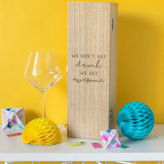 Just in: Get Awesome Quote Wine Box Gift For Best Friend  http://www.blueponystyle.com/products/get-awesome-quote-wine-box-gift-for-best-friend?utm_campaign=crowdfire&utm_content=crowdfire&utm_medium=social&utm_source=pinterest