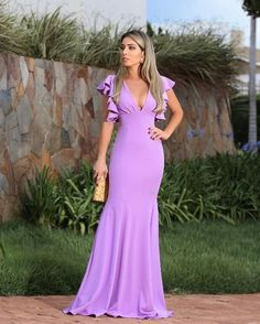 Elegant High Collar Mermaid Prom Dress,Charming Long | Smile Homecoming Dresses, Bridal Dresses, Bridesmaid Dresses, Dress Prom, Evening Dresses With Sleeves, Evening Gowns, Ball Gowns Prom, Dream Dress, Maxi Dresses