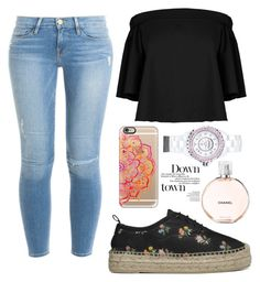 """Untitled #274"" by laurach81 on Polyvore featuring Yves Saint Laurent, Frame Denim, TIBI, Casetify and Chanel"