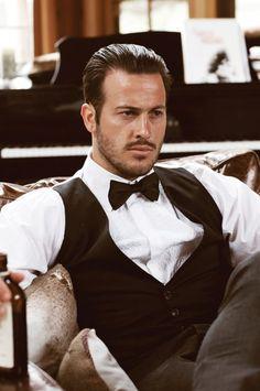 Great Gatsby hair for men #men #hair #stylish #shine #sleek