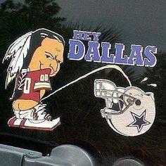 Cowboys Vs Redskins, Redskins Logo, Redskins Fans, Dallas Cowboys, Pittsburgh Steelers, Cowboys Memes, Nfl Memes, Nfl Football Teams, Nfl Sports