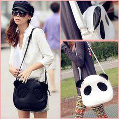 How cute is this panda, love love love! Pandas!