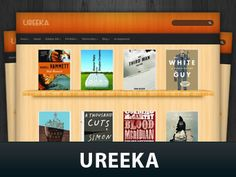 Ureeka is our new special fabseries theme that you can use to run a book review site.
