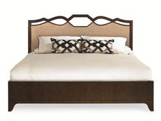 Shop for Century Furniture Ogee Bed With Uph Headboard - Queen Size 5/0, 419-175, and other Bedroom Beds at Today's Home Interiors in Dayton, OH. Pulling from the Art Deco movement that began in Paris in the 1920's and grew throughout the 1930's, the Paragon Collection by Century embodies the aesthetics of this era with glamour, function and modernity.