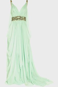 Pretty mint green dress...again...need something to wear this to