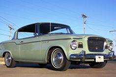 1960 STUDEBAKER LARK VIII REGAL (RARE TWO DOOR)
