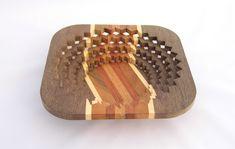 Drevená miska vyrobená na lupienkovej pílke tzv. Scroll Saw, Bracelets, Leather, Jewelry, Jewlery, Jewerly, Schmuck, Jewels, Jewelery