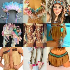 American Indian Costume, Indian Costumes, Fantasy Bra, Fantasy Dress, Belly Dancer Costumes, Girl Costumes, Pocohantas Costume, Make India, Indian Princess Costume