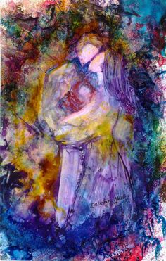 """A tender moment between a couple called """"Midnight Whispers""""."""
