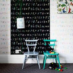 roomenvy - funky children's wallpaper