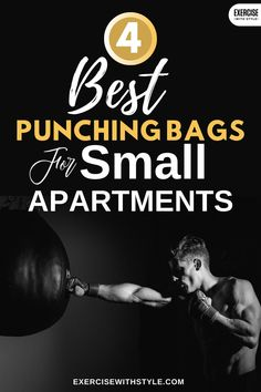 Small apartments can be tricky to set up punching bags. I've researched the 4 best punching bags for small apartments that are quiet and compact! Cardio Workout At Home, Cardio Workouts, Fit Board Workouts, At Home Workouts, Group Fitness, Fitness Tips, Health Fitness, Cardio Equipment, Home Gym Equipment