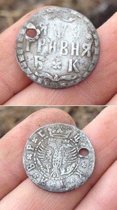 Первое серебро в сезоне 2016  #metal detecting #finds  #history  #tools #diy #hunting #coins #locations #treasures