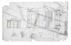 Preliminary design for House B yurt © Peter Salter