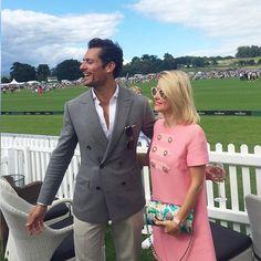 A #PerfectDay of #BritishPoloDay & the #bestdressed #man #theoneandonly #DavidGandy @davidgandy_official @jaegerlecoultre @cowdraypolo @cowdrayestate  @aspinaloflondon