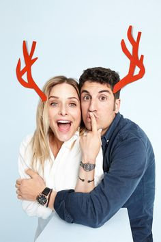 There's one for you and one for me. Jenny Mollen and Jason Biggs make gift giving as much fun as receiving. See more gift ideas for her and him here.
