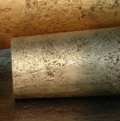 Metallic Cork Wallpaper