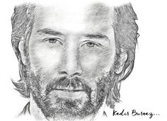 Keanu Reeves Drawing... New Matrix, Keanu Reeves, Pop Art, How To Draw Hands, Sketches, John Wick, Drawings, Pencil, Painting