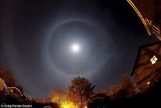 Lunar Halo from Brockenhurst, England