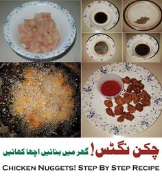 Chicken Nuggets Recipe In English Urdu Steps With Pictures