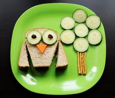Time for lunch. So cute and so simple.