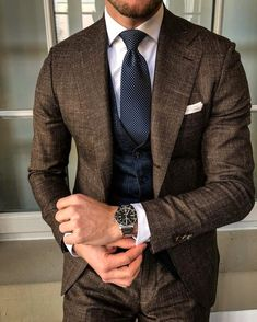 Gentleman Mode, Gentleman Style, Casual Wear For Men, Stylish Mens Outfits, Casual Outfits, Fashion Outfits, Terno Slim Fit, Style Costume Homme, Fashion Business