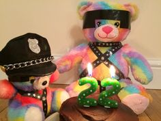 Happy birthday RBB! Enjoy your special day eating cake with SBB.