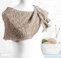 Kaepora Shawl by Adrienne Ku Knit Kit - None