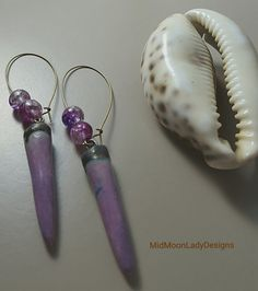 Spiky Grapel Dangling Earrings