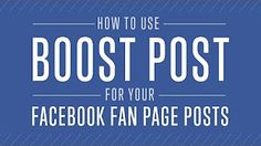 How to use Facebook Ads to Promote your Facebook Page - YouTube