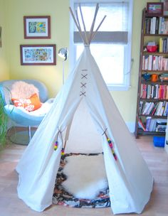 teepee - I made a teepee for my two boys and for my nephew. They are now 40 years plus - it was a favorite thing