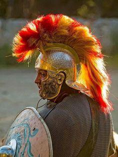 Roman legionary larper