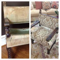 Circa 1890 chair needed a lift