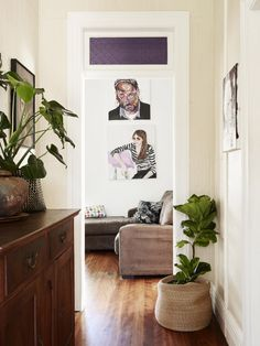 The shared Petersham home of artists Laura Jones, Alex Standen and Mirra  Whale.