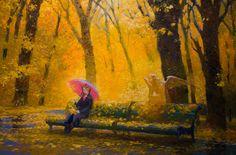 Victor Nizovtsev Victor Nizovtsev, Bible Images, Thomas Merton, Angel Art, Painting Lessons, Fantasy Artwork, Fall Season, Nativity, Illustration