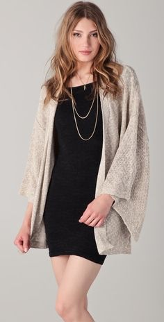 Free People Tokyo Eyes Cardigan thestylecure.com