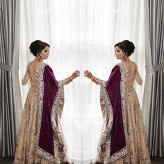 Good evening beauties #TGIF! Today we are flashing it back to our bride Parveen from last month. Her look was truly timeless and she incorporated some gorgeous colour combinations! Thank you for trusting us on your special day - Hair makeup photography and styling by us. Outfit: @crossoverbollywoodse -  #bridalmakeup #indianweddings #simplicity #instabeauty #indianbrides #makeupartists_worldwide #vegas_nay #brian_champagne #indianweddingbuzz #indian_wedding_inspiration  #masterartists…