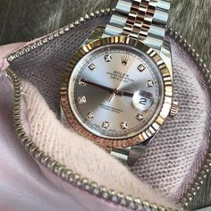 """6,880 Likes, 79 Comments - Rolexshow Israel (@rolexshow_israel) on Instagram: """"DATEJUST 41 , sundust dial is dedicated to @fbwatches ,congrats for reaching 5️⃣0️⃣K followers…"""""""