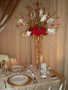 created by First Impressions Wedding Decor