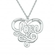Love Pendant from Shanee-Thomas Designs for $140 on Square Market