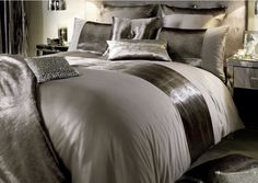 This sateen truffle range from Kylie now ha 30% code: kylie1. Don't miss out  www.thecurtainbar.com