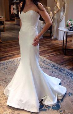 MODELBRIDE - Nicole Miller Felicity Bridal Dress Antique White Add ...