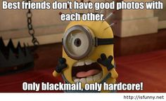 Best friends funny cartoon minion quote isfunny.net