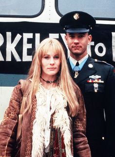 Jenny Curran & Forrest Gump via @WhoWhatWear