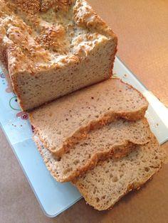Pão com amaranto e linhaça sem glúten (máquina de pão)