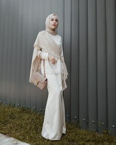 """HIFDZAN SN. AGHNIA (@aghniapunjabi) Instagram: """"Kondangan: kebiasaan yang sudah menjadi hobby—Kondangan outfit by @chandani.id ✨😍"""" Kebaya Muslim, Kebaya Modern Hijab, Kebaya Hijab, Kebaya Dress, Muslim Dress, Hijab Gown, Hijab Evening Dress, Hijab Dress Party, Event Dresses"""