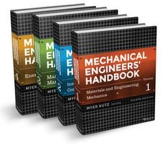 Mechanical Engineering Hand Book PDF volume 1, 2, 3 & 4 MECHANICAL HAND BOOK by Myer Kutz referred by IIT Students and Professor valuable reviewed book here