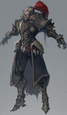 ArtStation - Dragon Slayer concept, Ben Juniu