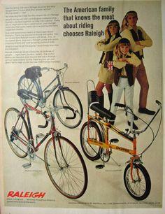 1969 Raleigh Chopper, Grand Prix Bicycle Vintage Ad