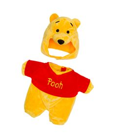 Winnie the Pooh Costume 2 pc. | Build-A-Bear Workshop